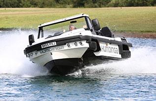 Humdinga p2 – front view turning on water