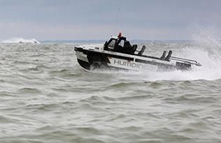 Humdinga p2 sea 2 – rough sea