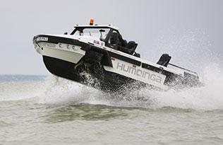 Humdinga p2 sea 2 – at sea raised front