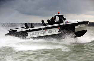 Humdinga p2 sea 2 – right side through the waves