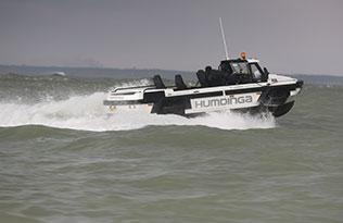 Humdinga p2 sea 2 – at sea