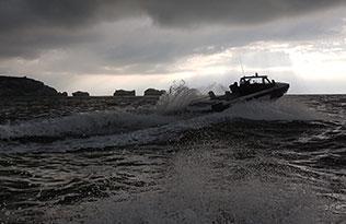 Humdinga p2 sea 2 – sea spray rear view